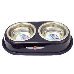 Spot Stainless Steel Retro Diner for Dogs