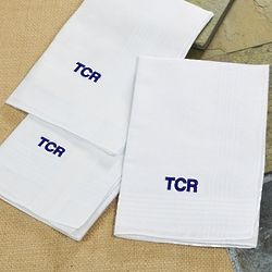 Personalized for Father Cotton Handkerchiefs