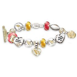 #1 Fan's Arizona Cardinals Charm Bracelet