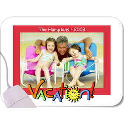 Vacation Photo Mouse Pad