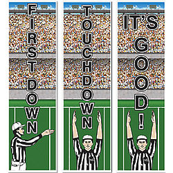 Football Vertical Cutouts