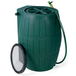 54 Gallon Green Rain Barrel