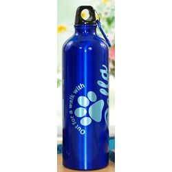 Personalized Walk with My Dog Water Bottle