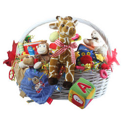 Baby's Giant Toy Gift Basket