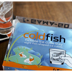 Koi Coldfish Ice Cube Tray