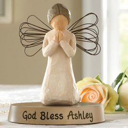 Personalized Angel of Prayer Figure