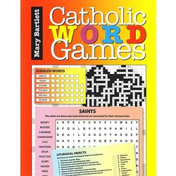 Catholic Word Games Book