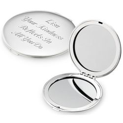 Classic Silver Plated Compact