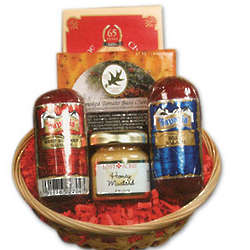 Petite Snacker Cheese and Sausage Gift Basket