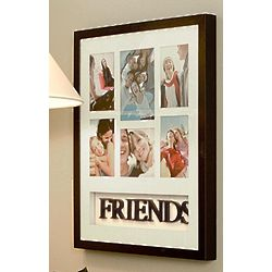 Friends or Family Themed Collage Picture Frame