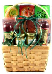 Sausage and Cheese Snacks Gift Basket