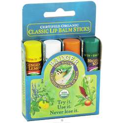Classic Lip Balm Variety Pack