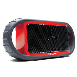Red Waterproof Bluetooth Speaker