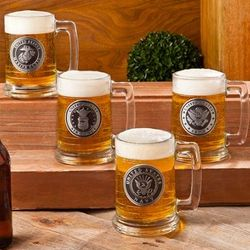 Personalized Military Emblem Stein