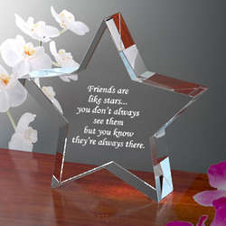 Personalized Make Your Own Star Keepsake