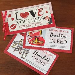 Personalized Vouchers of Love
