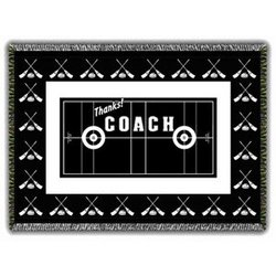 Thanks! Coach Curling Afghan