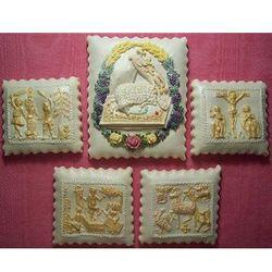 Easter Lamb Springerle Cookies Gift Tin