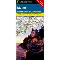 Maine State Guide Map