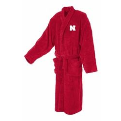 University of Nebraska Men's Ultra Plush Bathrobe