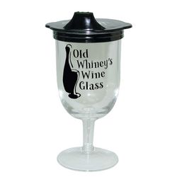 Old Whiney Sippie Wine Glass