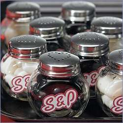 Mini Salt and Pepper Shakers