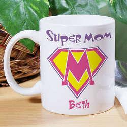 Super Mom Ceramic Coffee Mug