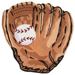 Baseball Mitt Rug