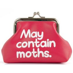 May Contain Moths Coin Purse