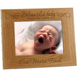 For This Child I Prayed Baby Photo Frame