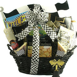 NASCAR Racing Fan Gift Basket