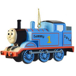 Thomas the Tank Personalized Christmas Ornament