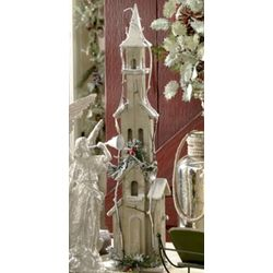 Decorative Tall Steeple Birdhouse