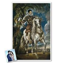 Classic Painting Duke of Lerma Personalized Print