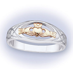Claddagh and Celtic Ring