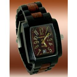 Men's Ultra Ebony-Rose Sandalwood Watch