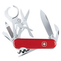 Swiss Army Pocket Knife with Cigar Cutter