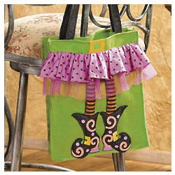 Witch's Feet Tote Bag