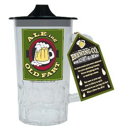 Ale-ing Old Fart Sippie Beer Stein