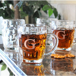 Traditional Personalized Beer Tankards