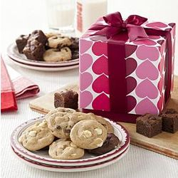 Mrs. Fields Precious Hearts Cookies Box