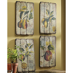 Rustic Fruit Prints