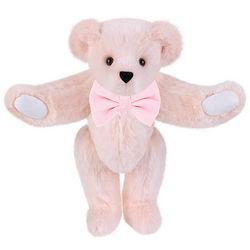 Pastel Pink Bowtie Teddy Bear