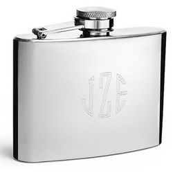 Classic Personalized Shiny Flask