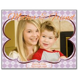 Mother and Friend Photo Panel