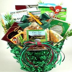 Back Nine Golf Themed Gift Basket