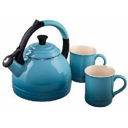 Caribbean Peruh Kettle and Mug Set