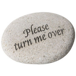 Please Turn Me Over Stone