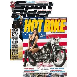 Sport Rider and Hot Bike Monthly Combo 22 Magazines
