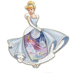 Disney Cinderella Wall Decor Collector Plate
